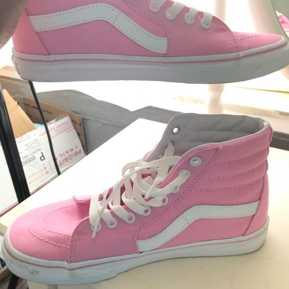 Vans Sk8 Hi Skate Shoe Prism s Pink b8793334b2aa
